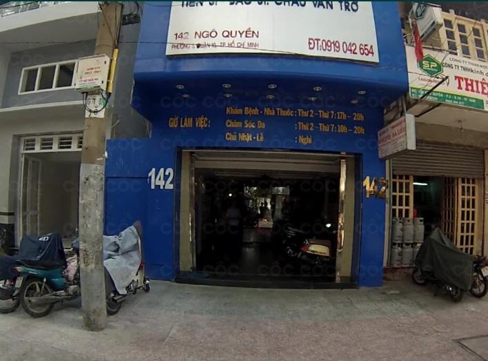 Phòng khám Da liễu - TS.BS. Châu Văn Trở