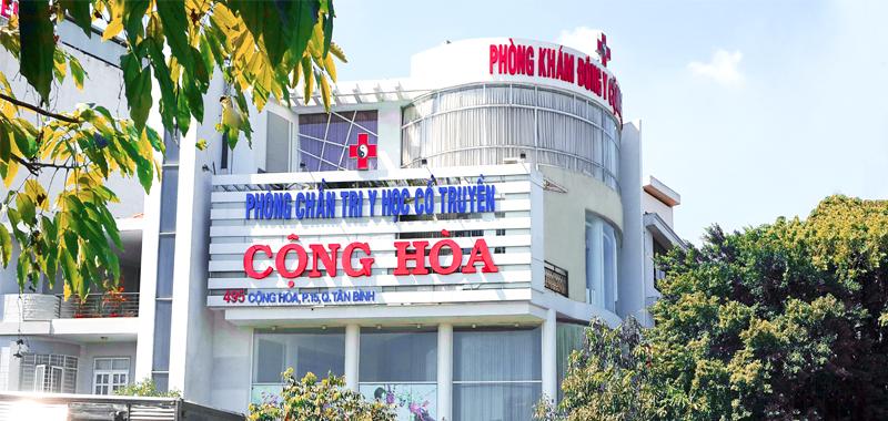 Phòng khám Đông  y Cộng Hòa