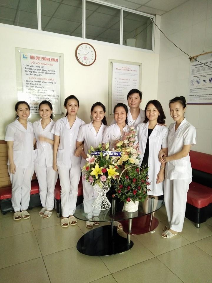 Đội ngũ nhân viên tại phòng khám