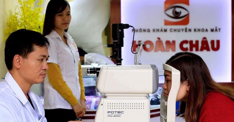 Tại phòng khám mắt Hoàn Châu, bạn sẽ được nhận tư vấn của bác sỹ chuyên khoa 2 về mắt.