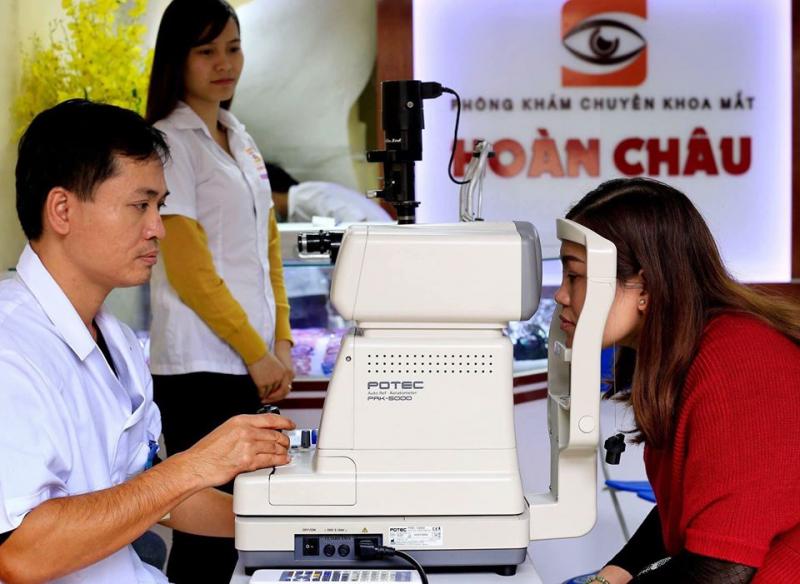 Phòng khám mắt Hoàn Châu
