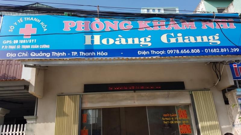 Phòng khám Nhi Hoàng Giang