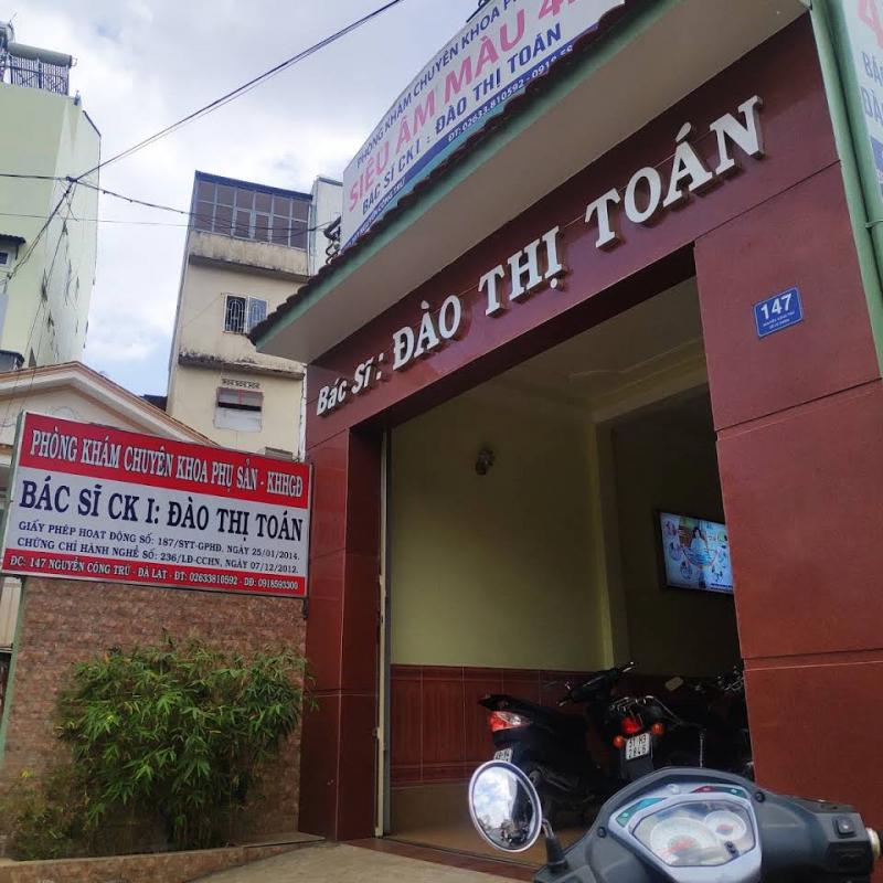 Phòng khám của bác sĩ Đào Thị Toán