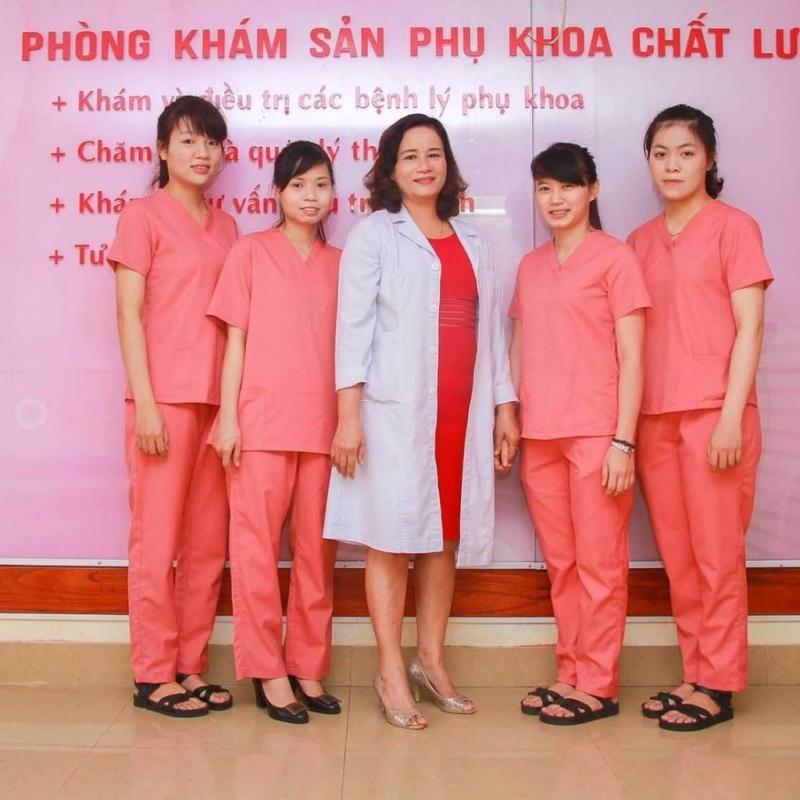 Đội ngũ nhân viên tại phòng khám của bác sĩ Trương Thị Chánh