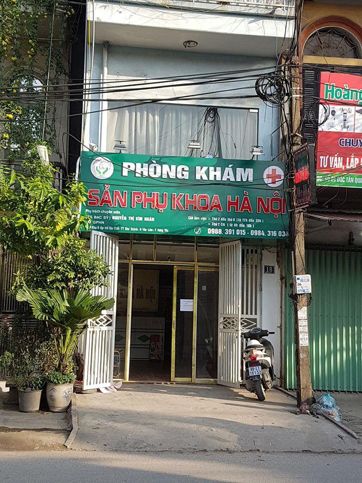 Phòng khám Sản phụ khoa Hà Nội ( BS Nguyễn Thị Kim Ngân)