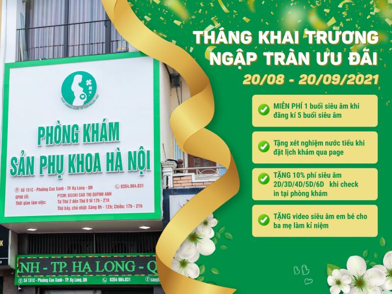 Phòng khám sản phụ khoa Hà Nội tại Hạ Long