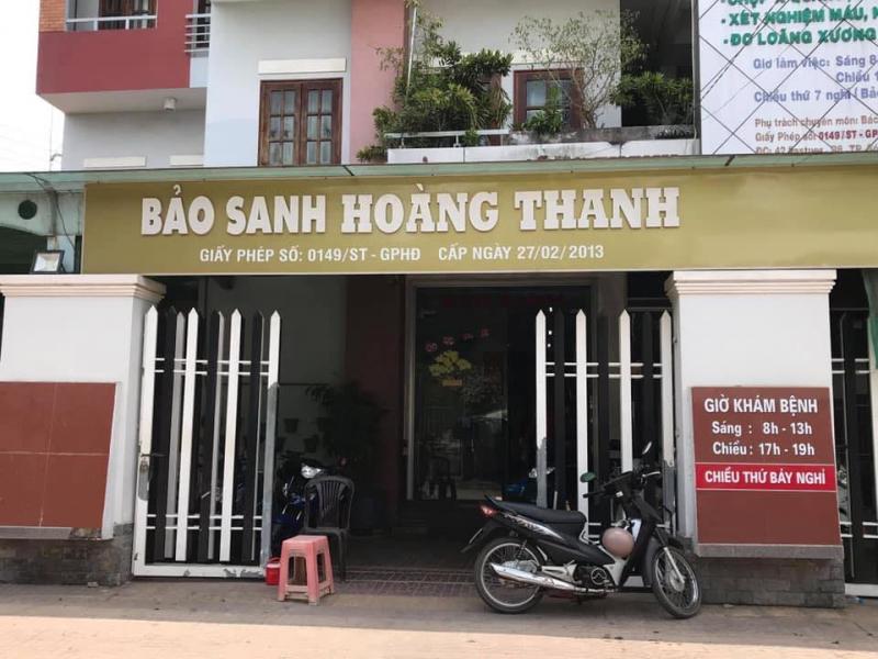 Phòng khám sản phụ khoa - Nhà Bảo Sanh Hoàng Thanh