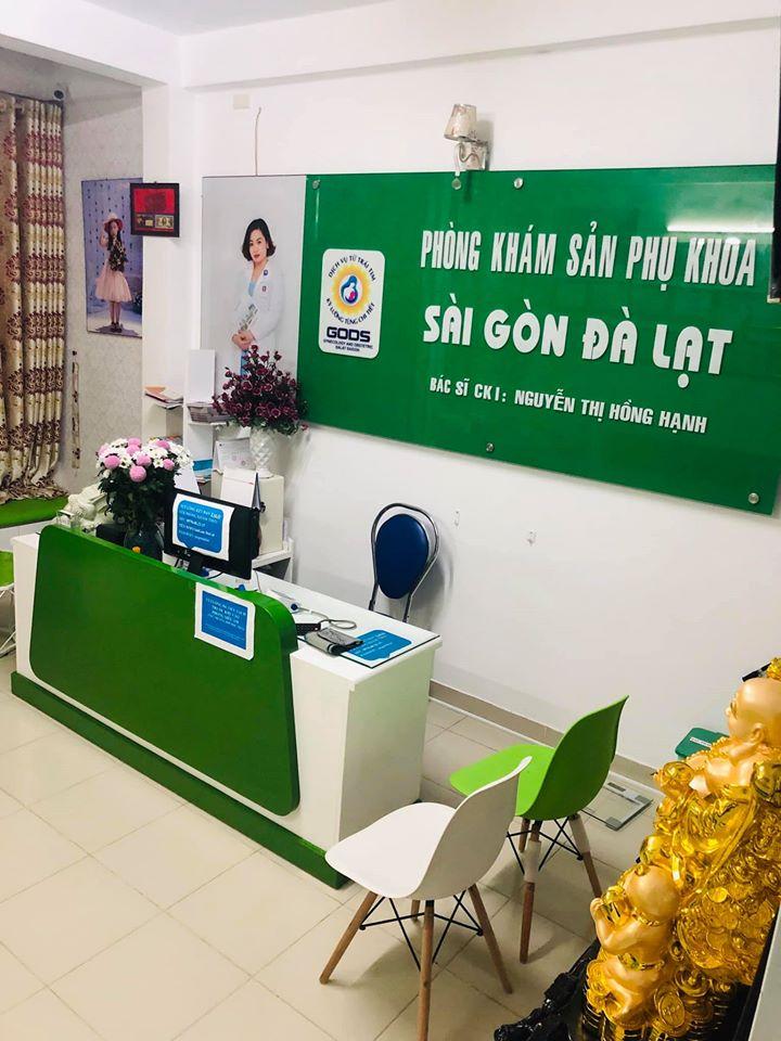 Phòng đón bệnh nhân Phòng khám Sản phụ khoa Sài Gòn - Đà Lạt