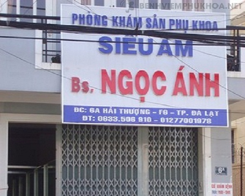 Phòng khám sản phụ khoa bác sĩ Ngọc Ánh