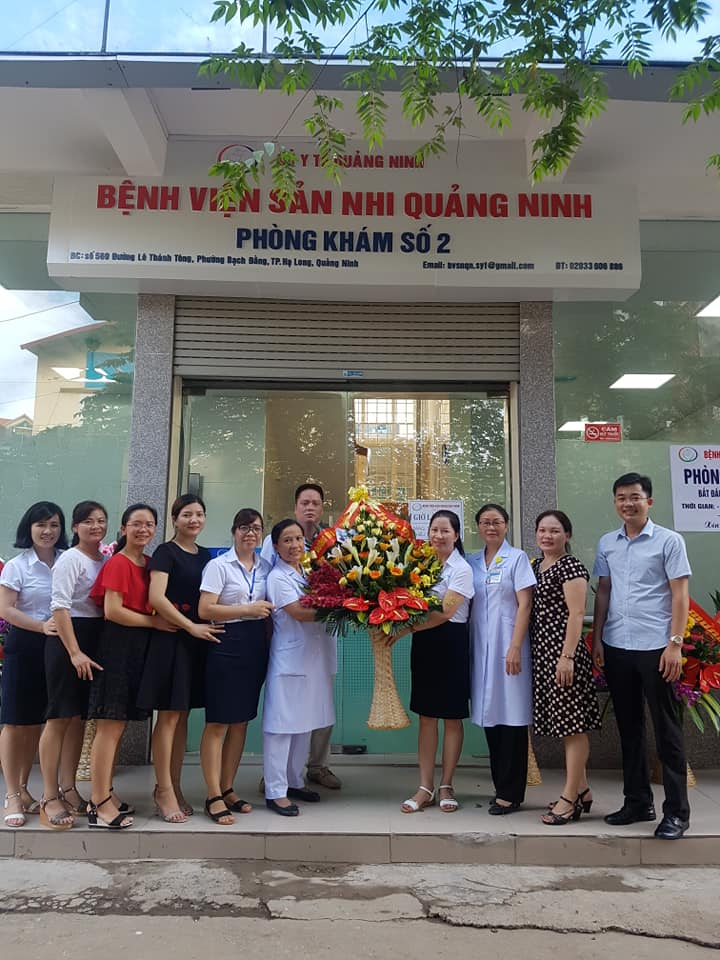 Phòng khám số 2 - Bệnh viện Sản Nhi Quảng Ninh