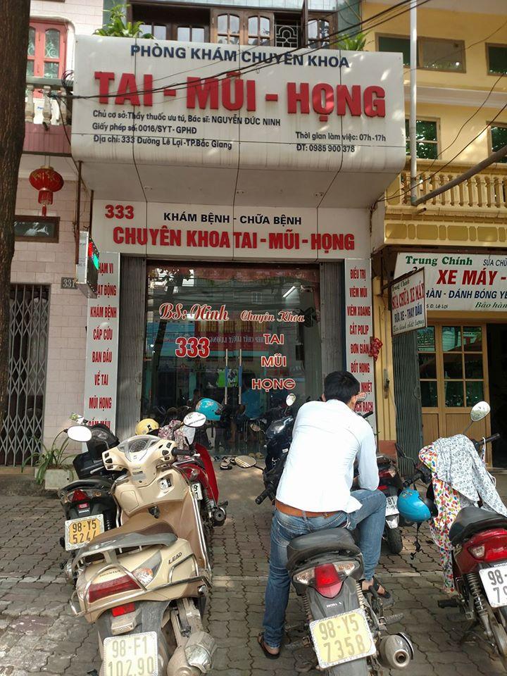 Phòng khám Tai Mũi Họng - 333 Lê Lợi, Tp. Bắc Giang