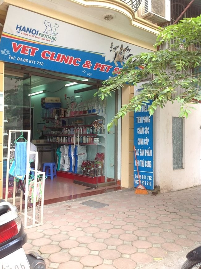 Phòng khám thú y Hanoipetcare