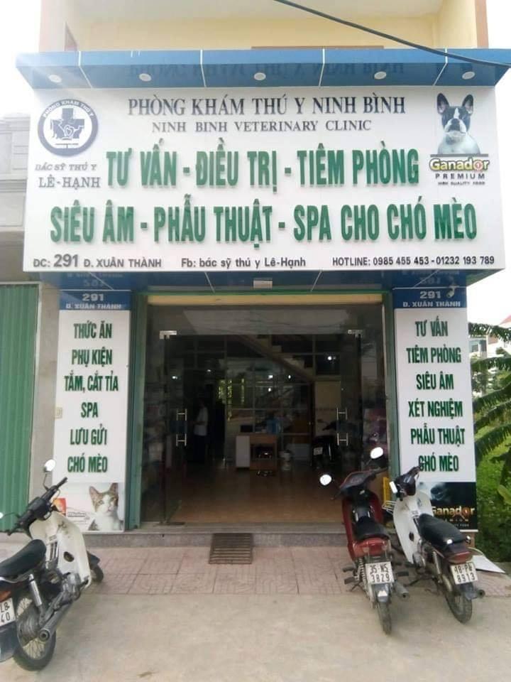 Phòng khám Thú y Ninh Bình - Bác Sỹ Thú Y Lê -Hạnh