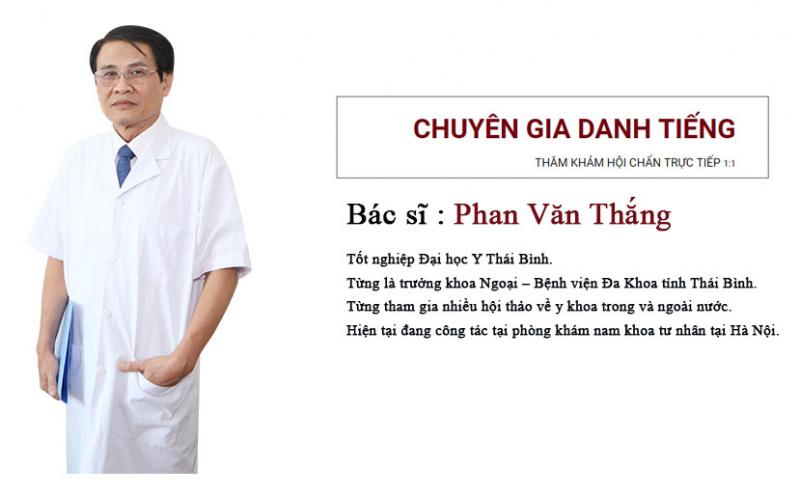 Phòng khám tư nhân của bác sĩ Phan Văn Thắng