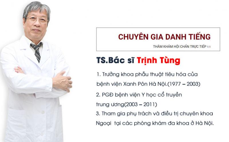 Phòng khám tư nhân của tiến sĩ, bác sĩ Trịnh Tùng