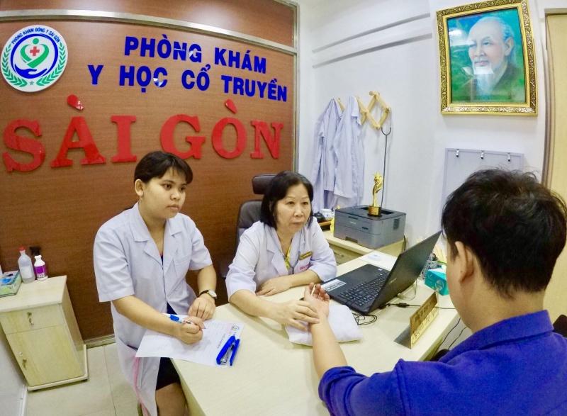 Phòng Khám Y Học Cổ Truyền Sài Gòn - địa chỉ châm cứ hàng đầu TPHCM