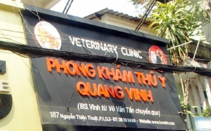 Phòng khám thú y Quang Vinh