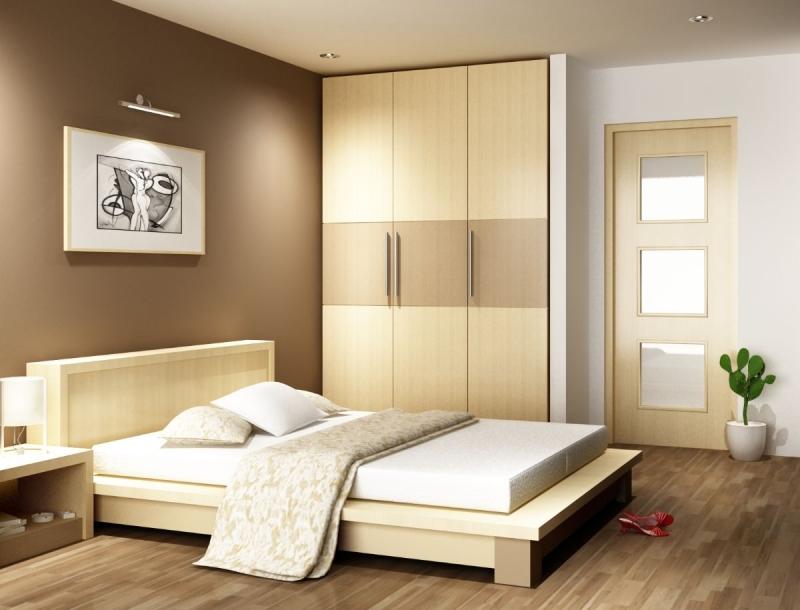 Khi xây phòng ngủ, nên là hình vuông hoặc hình chữ nhật, tốt nhất nên là hình vuông, như vậy vợ chồng dễ thuận hòa, gia đình hạnh phúc.