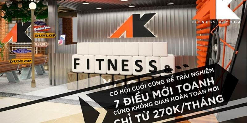 Phòng tập Gym AK Fitness Nguyễn Lương Bằng