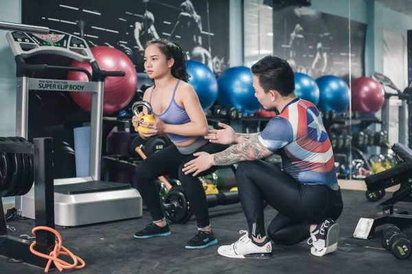 Phòng tập Gym Fight 4 Fitness