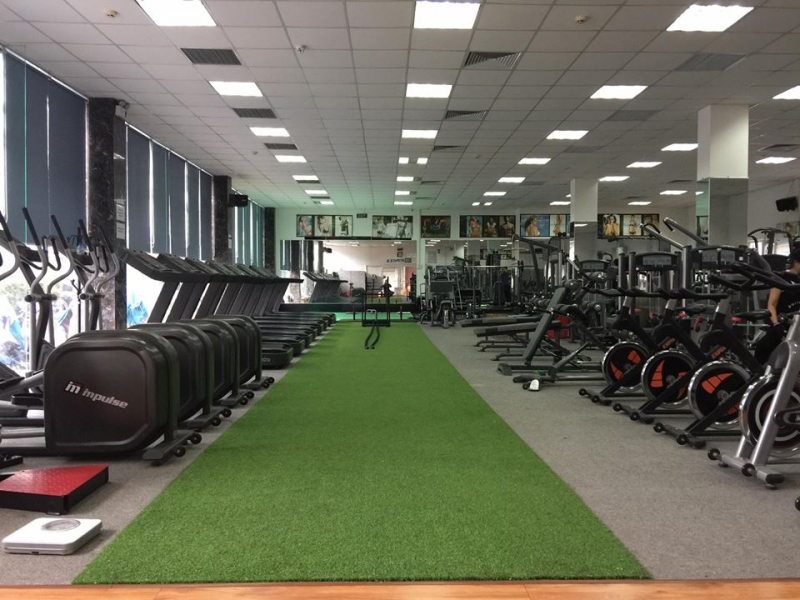 Phòng tập Gym MD Fitness Văn Cao