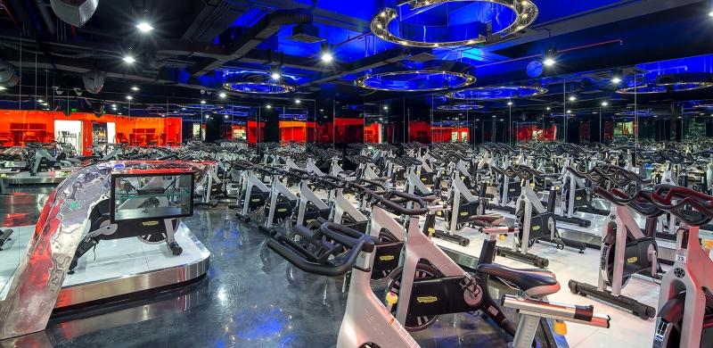 Phòng tập Gym Nha Trang của California Fitness & Yoga