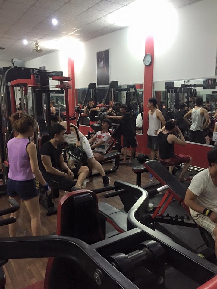 Phòng tập Gym Quốc Anh