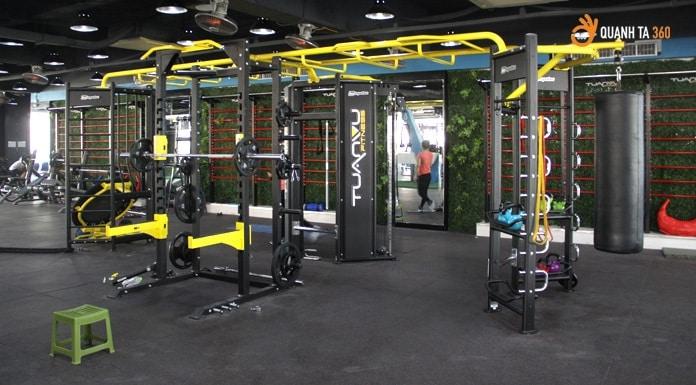 Phòng tập Gym Tuấn Vũ Fitness Thành Công