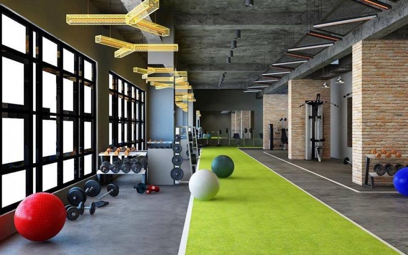 Phòng Tập Gym UPF
