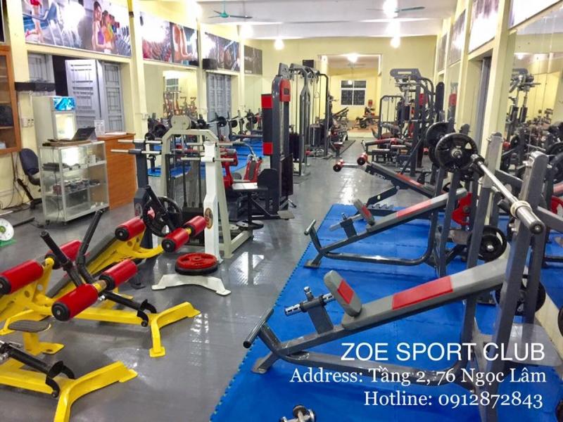 Phòng Tập Gym Zoe Ngọc Lâm