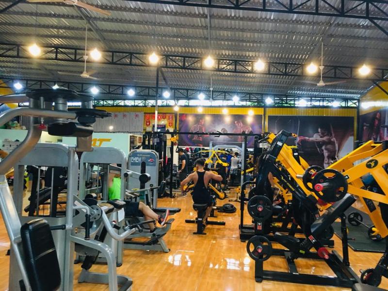 Phòng tập gym Anh Thông