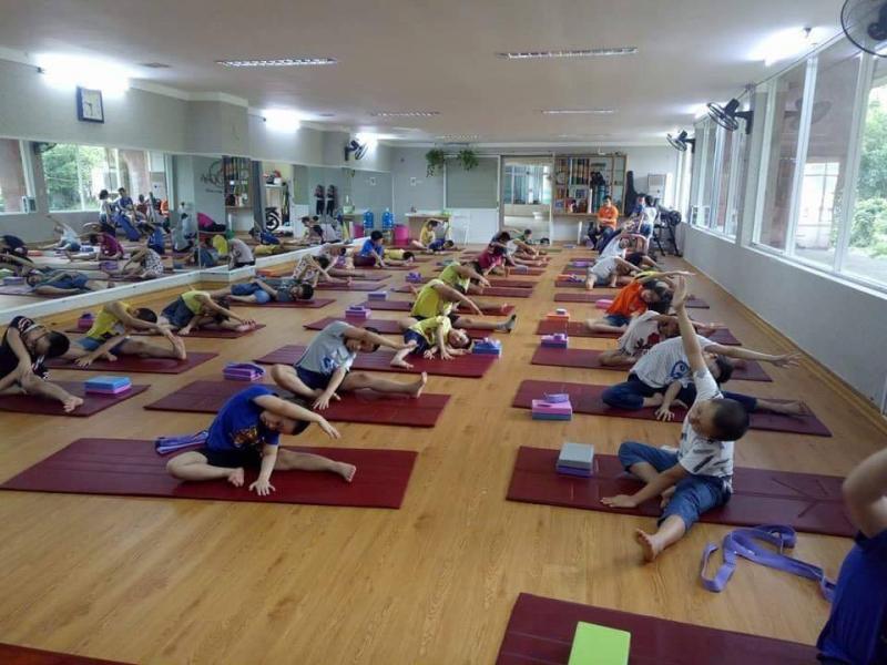 Phòng tập Yoga Cung Văn hóa Thiếu Nhi