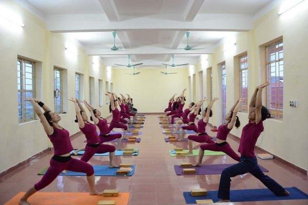 Phòng tập Yoga Ủy ban phường An Dương