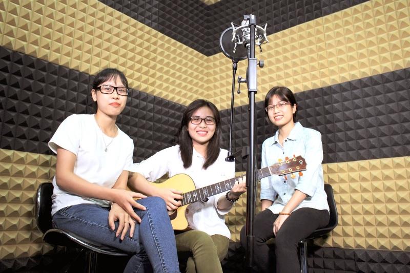 Phòng thu âm Music điểm đến của nhiều bạn trẻ