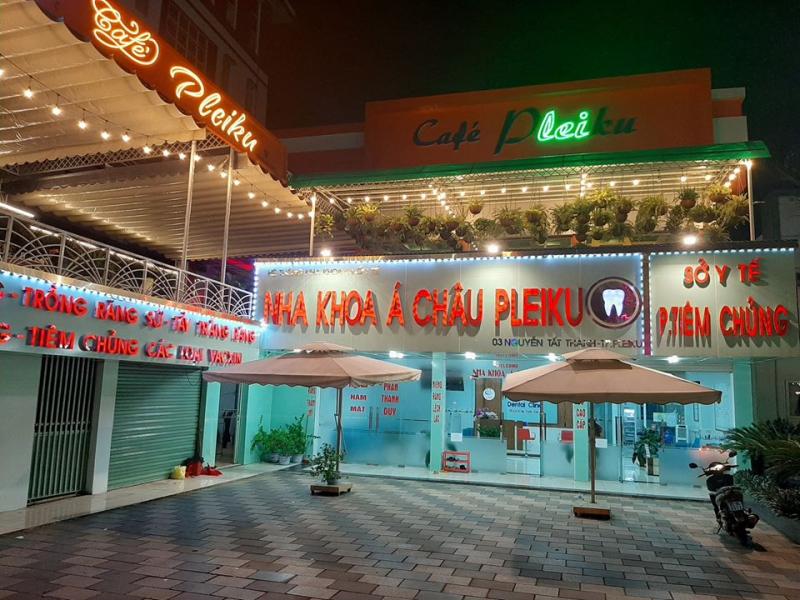 Phòng tiêm chủng dịch vụ Á Châu