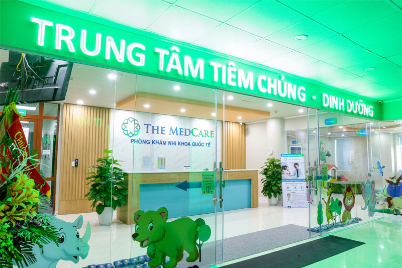 Phòng tiêm chủng – Phòng khám Nhi khoa Quốc tế The MedCare
