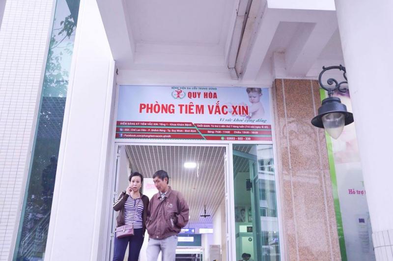Phòng tiêm vắc xin Bệnh viện Da liễu Quy Hòa