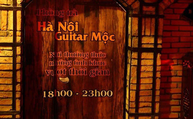 Phòng trà Hà Nội Guitar Mộc - nơi thưởng thức những tình khúc vượt thời gian