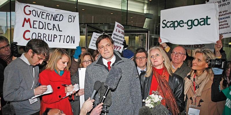 Andrew Wakefield, cha đẻ của phong trào phản đối tiêm vắc xin