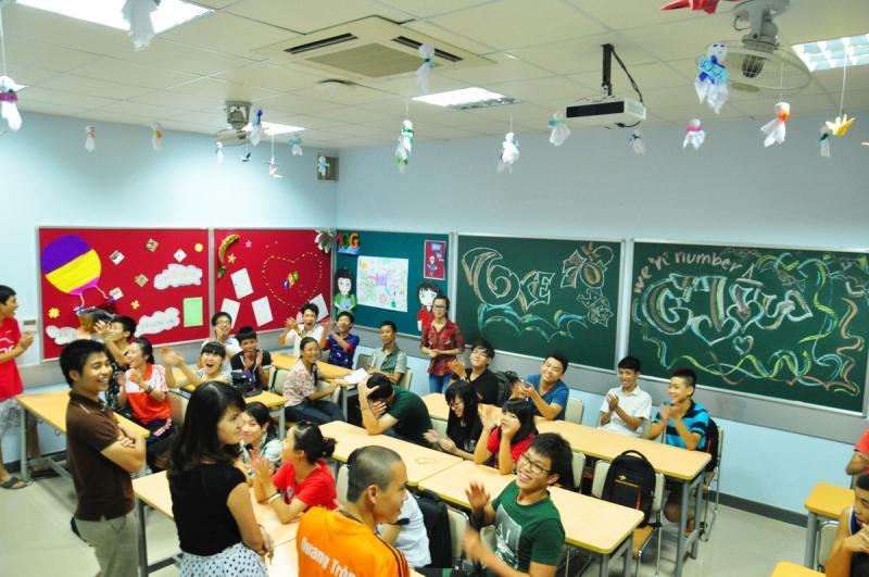 Trang trí lớp học chào mừng 26 - 3