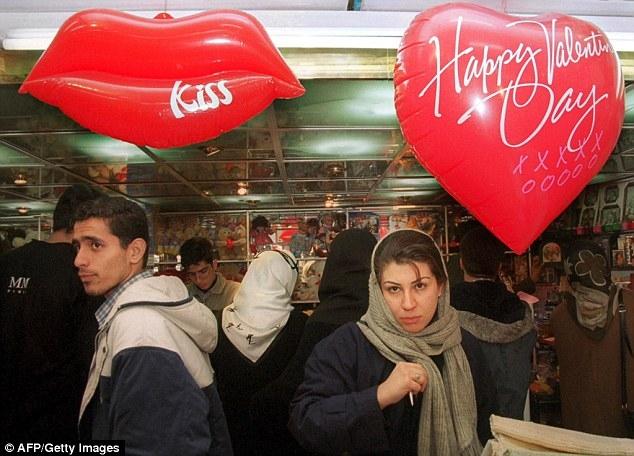 Phong tục Valentine ở Iran