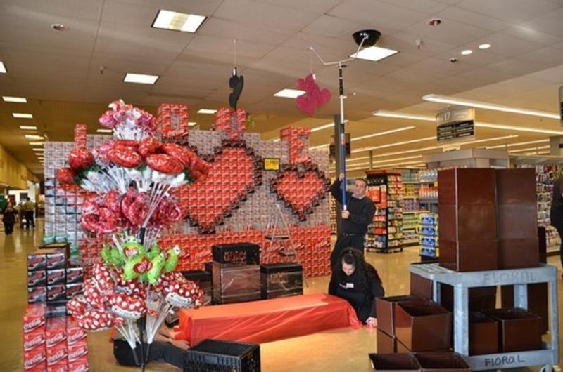 Đón Valentine như các siêu thị ở Mỹ