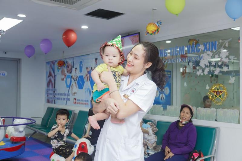 Phòng Vắc xin Bệnh viện đa khoa Quốc tế Hải Phòng
