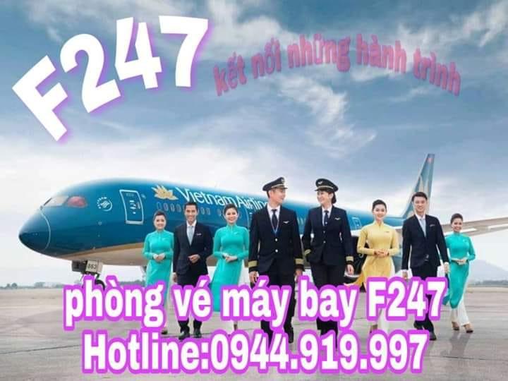 Phòng Vé Máy Bay F247