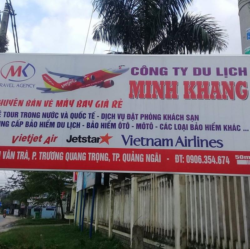 Phòng vé máy bay Minh Khang