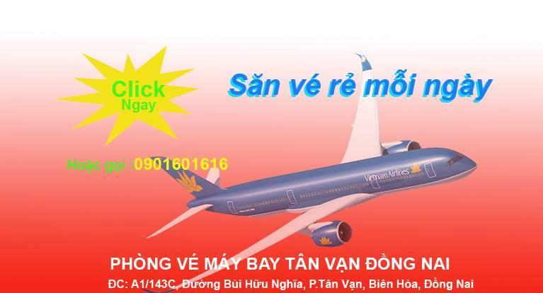 Top 4 Phòng vé máy bay uy tín nhất TP. Biên Hòa, Đồng Nai