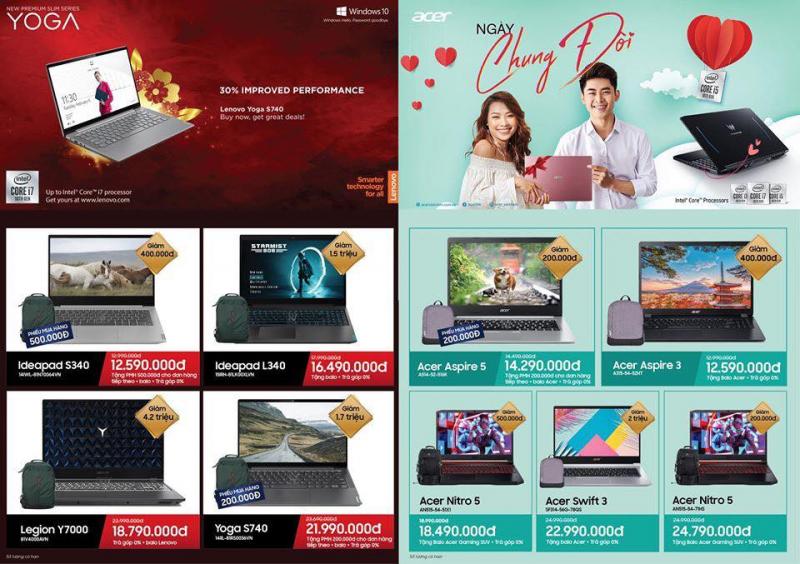 Top 6 địa chỉ mua máy tính/laptop uy tín nhất ở Bắc Ninh