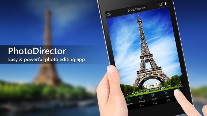 PhotoDirector được đánh giá là ứng dụng chỉnh sửa ảnh tốt nhất dành cho Android