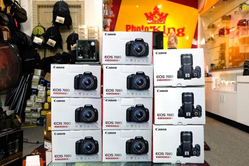 Một số dòng máy ảnh được ưa chuộng nhiều nhất.