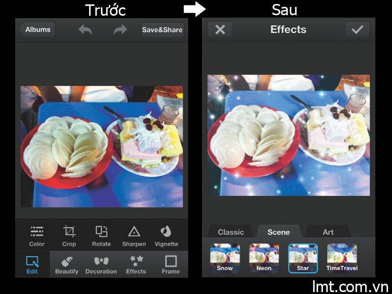 Ứng dụng chỉnh sửa ảnh PhotoWonder